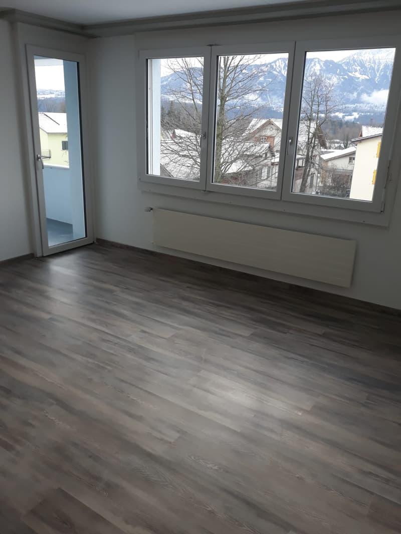 grosse helle 4 Zimmer Wohnung im netten Familienhaus mit schönem Aussicht! (4)