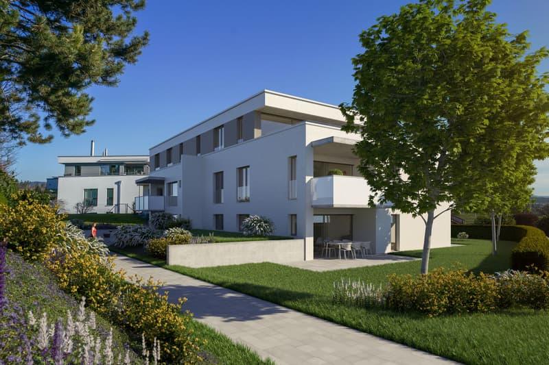 Modernes Neubauprojekt: 2.5-Zimmerwohnung im 1. OG