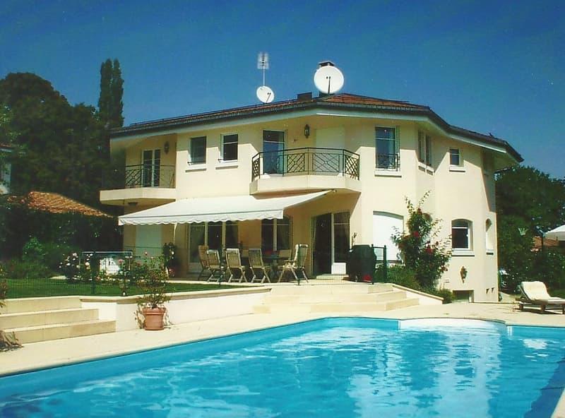 Magnifique Villa individuelle à louer à Vandoeuvres (courte/longue durée, meublé ou pas)