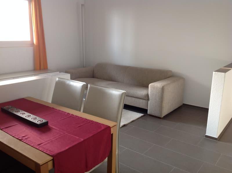 2-Zimmerwohnung möbliert zu vermieten per 01.04.2020 oder nach Vereinbarung