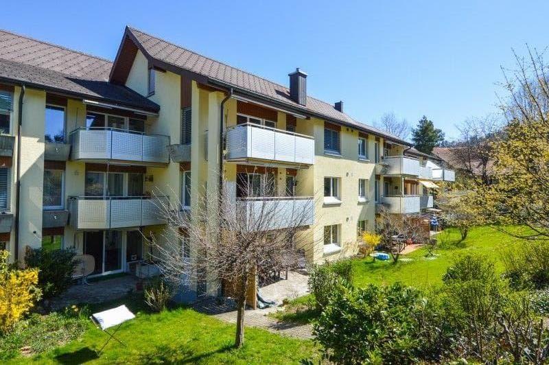 moderne Wohnung im Zentrum von Schliern