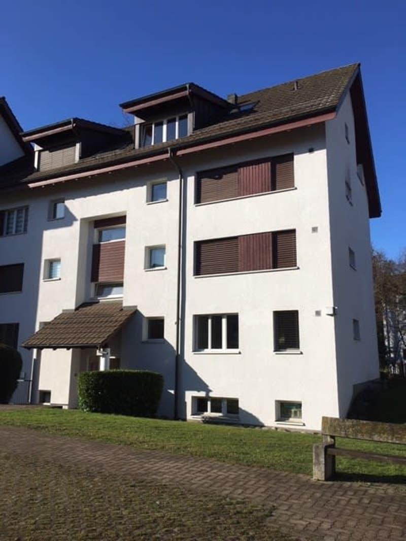 2.5 Zimmer-Wohnung im Parterre mit Sitzplatz