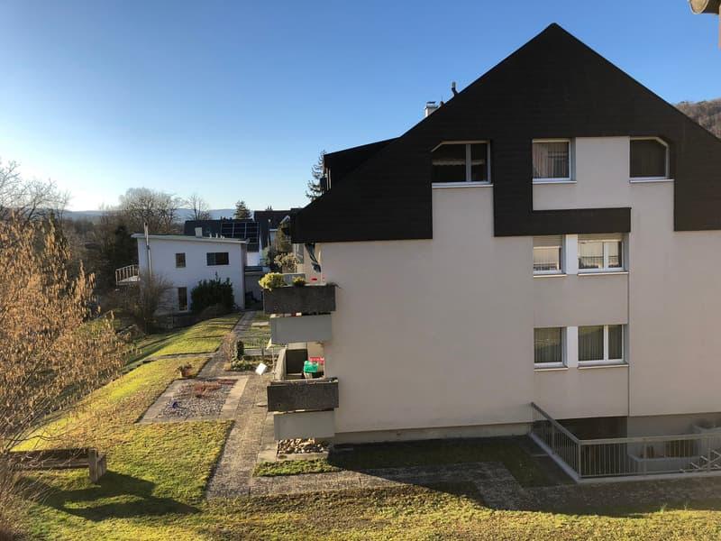 Frisch renovierte 3.5 ZWG auf hohem Standard in idyllischer Umgebung in Sissach!