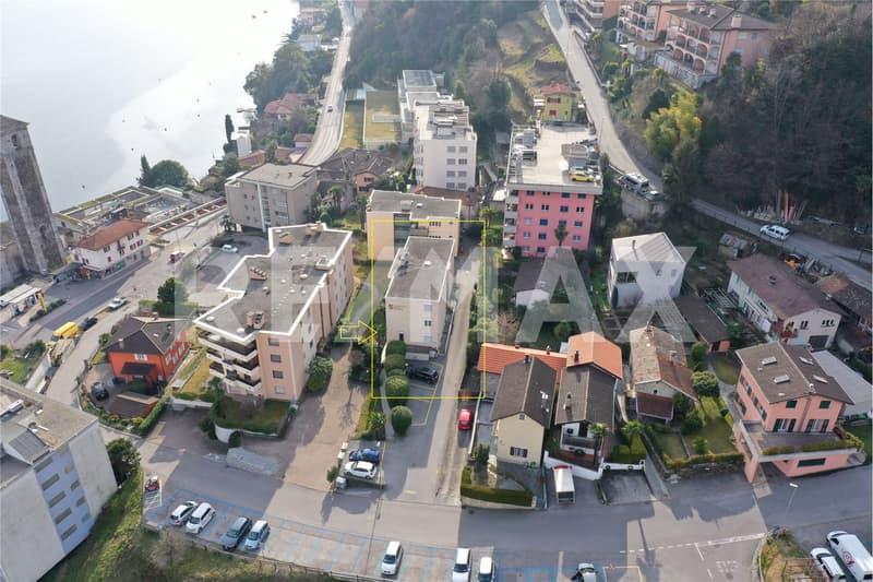 Appartamento vicino al Lido di Brissago / Wohnung in der Nähe der öffentlichen Badeanstalt