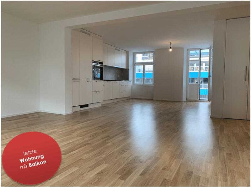 Erstbezug! Letzte 2.5 Zimmer-Wohnung mit Balkon im Luzerner Trendquartier (1)