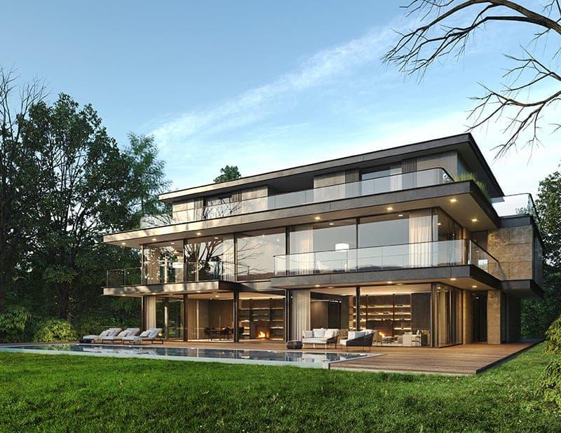 Neubau-Villa - 8700 Küsnacht