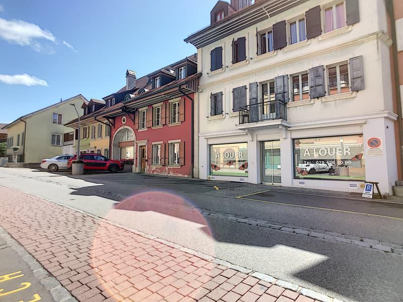 Immeuble au centre de Lucens