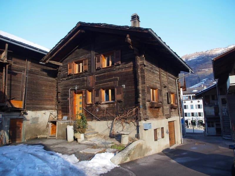 Maison villageoise de 4.5 pièces à louer au Châble