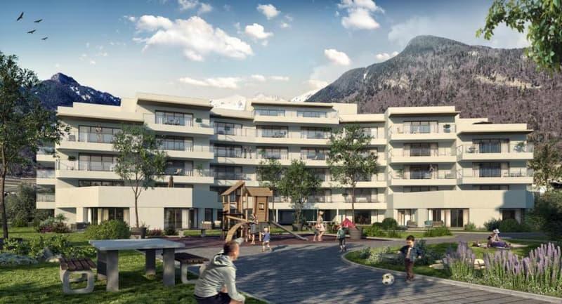 Spacieux appartement de 2.5 pcs avec grand balcon