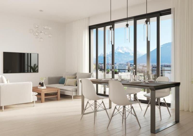 Bel appartement de 2.5 pcs avec balcon