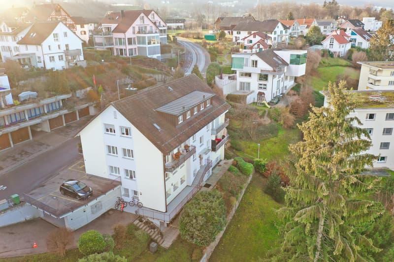 Charmante 3.0 Zimmerwohnung mit Gartensitzplatz (1)