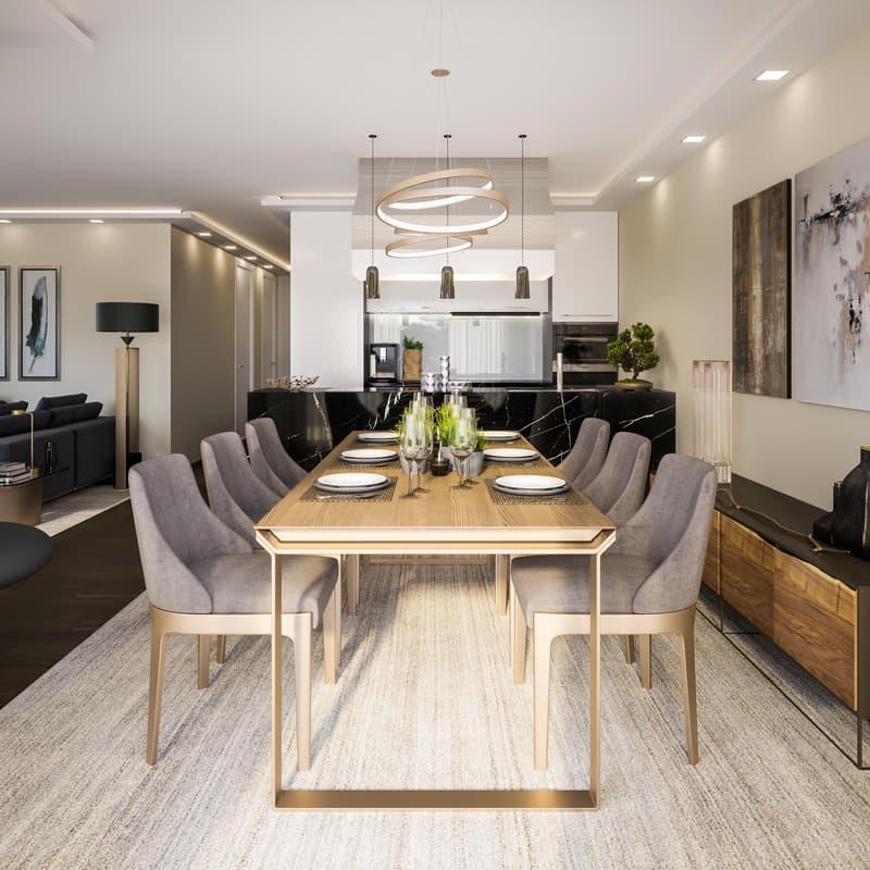 Außergewöhnliche Luxuriöse 3 1/2 - 5 1/2 Zimmer-Wohnungen (3)