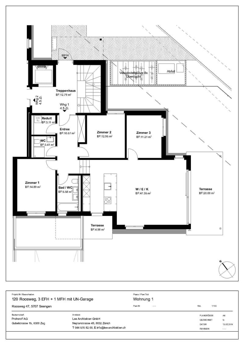 sonnige Wohnung mit grossem Garten und Seesicht (1)