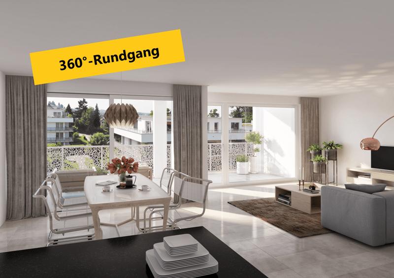 Bleichipark: Attraktive und moderne 3.5-Zimmer-Obergeschosswohnungen mit Disponibelraum