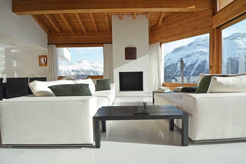 Hoch über den Dächern von St. Moritz - Villa mit atemberaubender Berg- und Seesicht auf 1900 m.ü.M. (3)