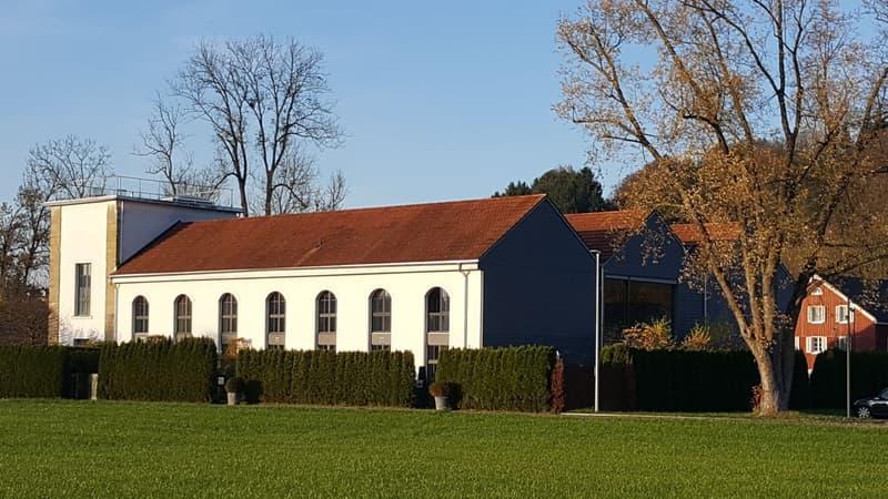 Wohnen in alter Fabrik - 9m Raumhöhe - inklusive Atelier