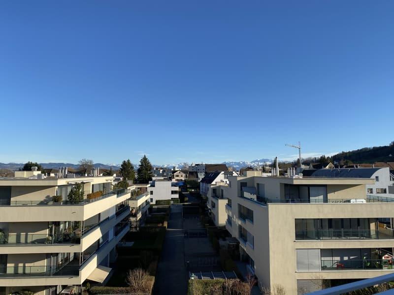 Perfekte Familienwohnung mit Alpensicht