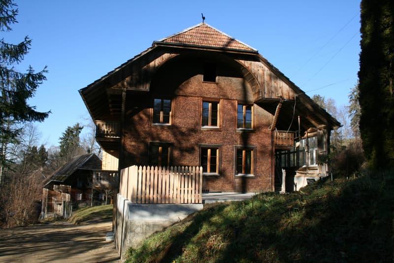 Einfamilienhaus an sehr ruhiger Lage in Landwirtschaftszone