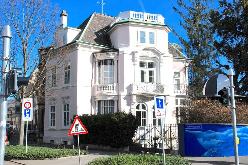 Basler Juwel: 11 Zi. Jugendstil-Villa im Paulusquartier nahe dem Schützenmattpark