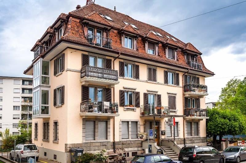 Wunderschöne, helle 3.5 - Zimmer Wohnung direkt am Farbhof! (1)