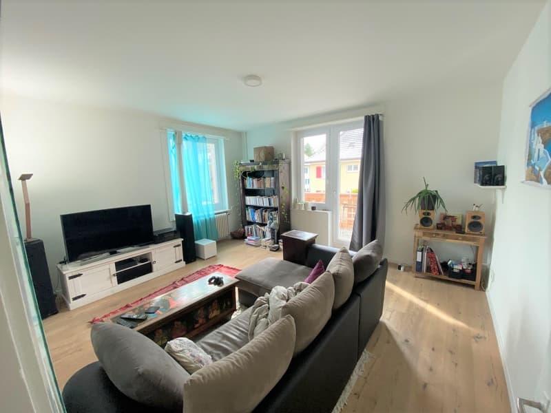 Wunderschöne, helle 3.5 - Zimmer Wohnung direkt am Farbhof! (2)