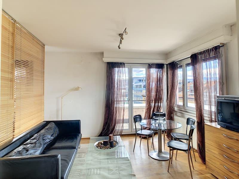Studio meublé avec terrasse panoramique en plein centre ville (3)