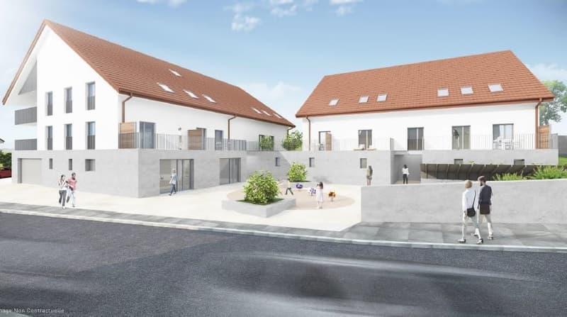 Résidence de l'Etraz : Appartement de 2.5 pièces en duplex (A7)