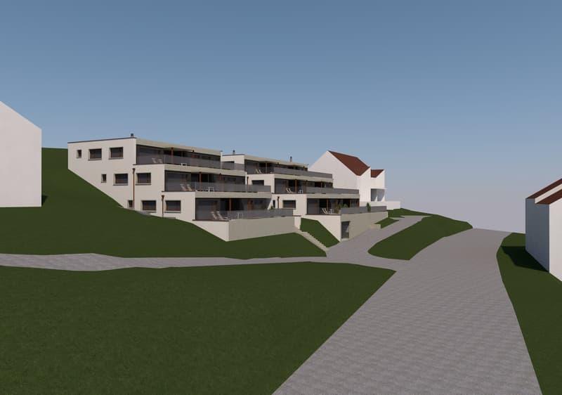 «Terrassenwohnung 1. Obergeschoss, Büntacher Sulz» (1)