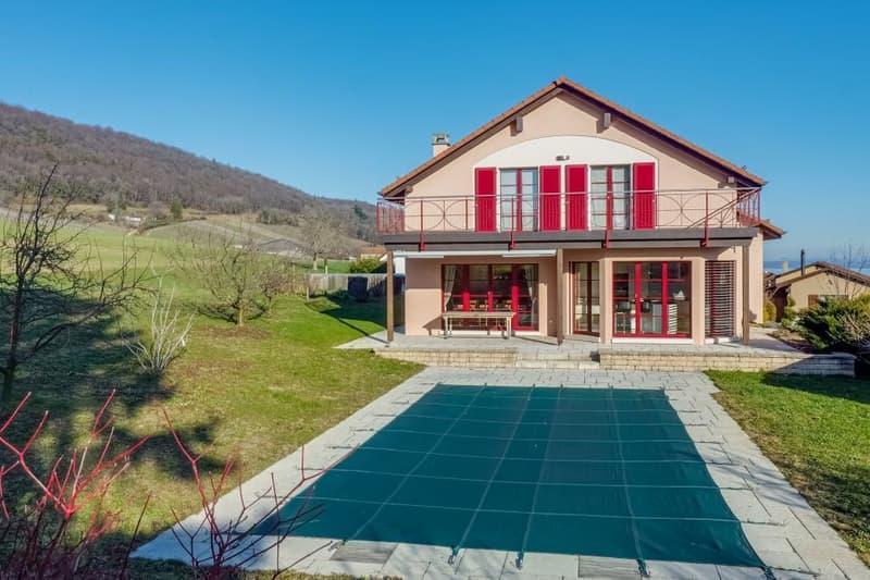 Villa individuelle de 6.5 pièces - situation de rêve !