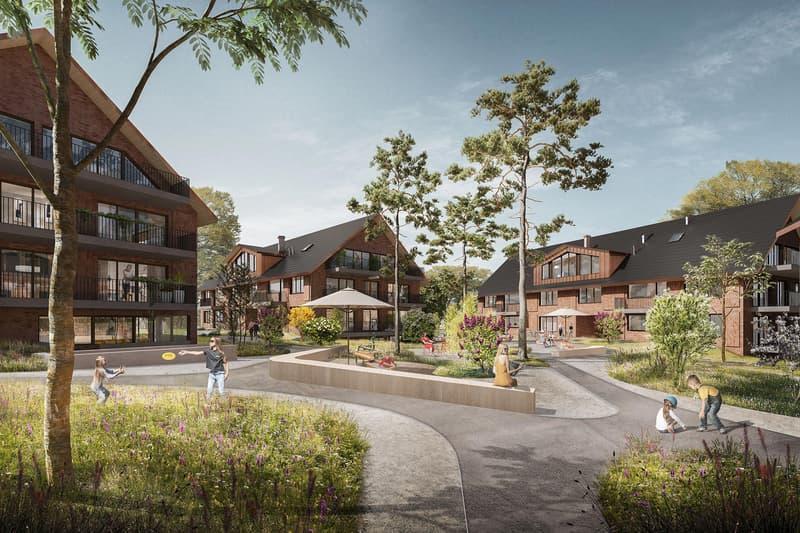 Erstvermietung Neubau: 3.5 Zimmerwohnung im freundlich anmutenden Dorfkern von Maur