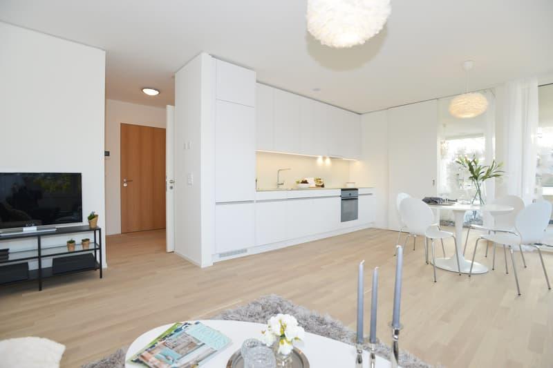 Erster Monat Mietzinsfrei! | Moderne, helle 2.5-Zimmerwohnungen im Qube4! (1)