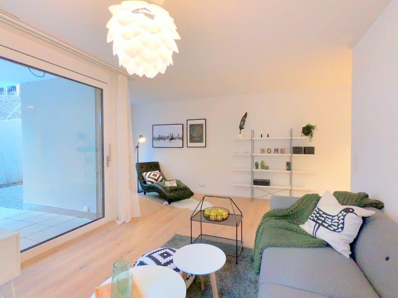 Stadtwohnung im modernen Neubau Wassergasse 53  / Musterwohnung (3)