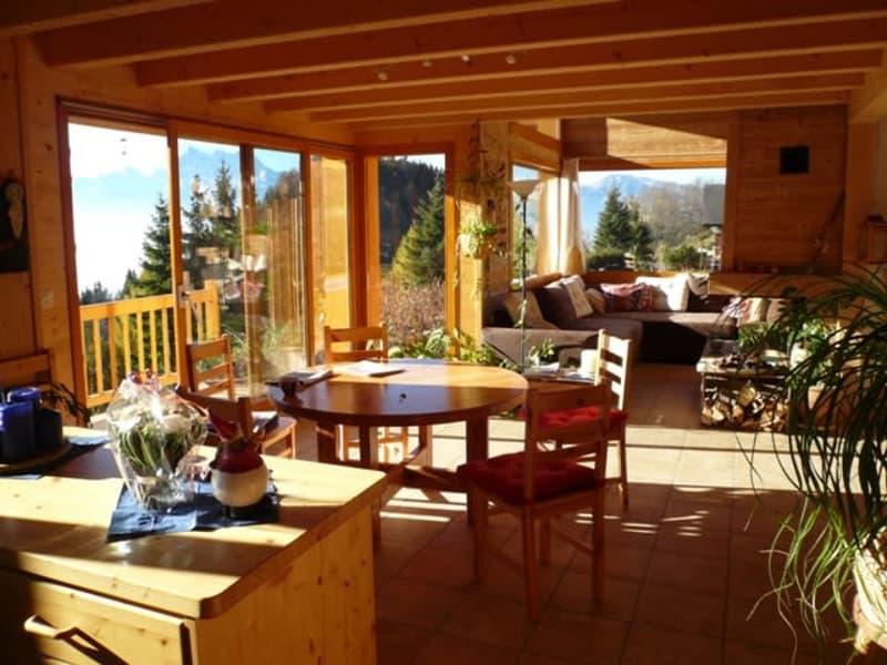 Chalet à Leysin + studio pour amateur de nature et tranquillité, vue imprenable (3)
