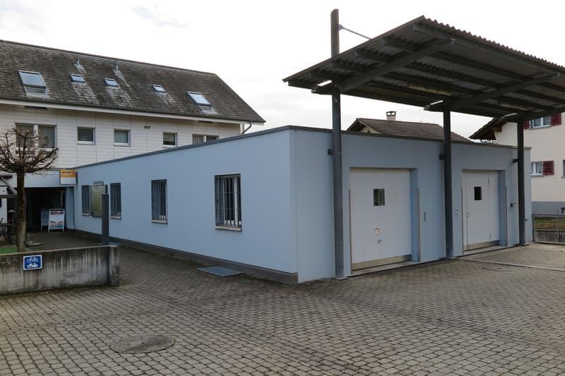 Postfiliale im Dorfzentrum