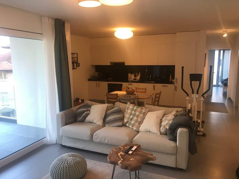 Appartamento di 72,2 mq (3.5 stanze) - 6900 Massagno - Via Morena 8 (3)