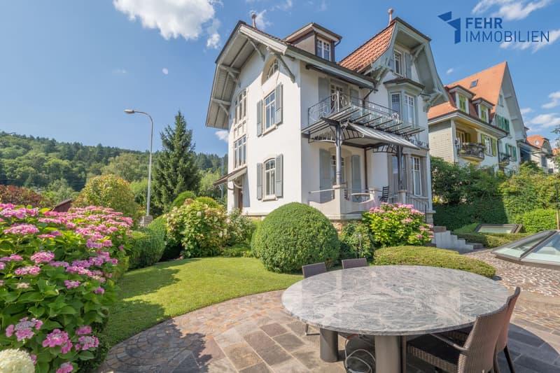 Fehr Immobilien - Wunderschöne Jugendstil-Villa mit herrlicher Aussicht
