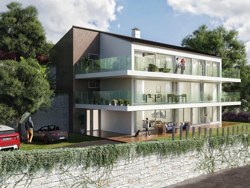 Nouvelle construction - Appartement de 4.5 pièces haut standing orienté plein Sud