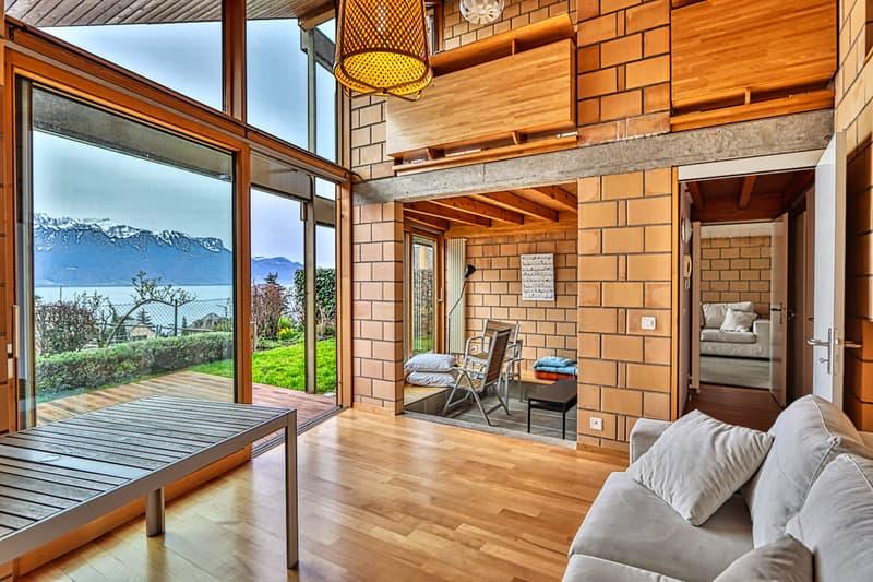 Villa jumelle de 6 pièces avec très belle vue lac
