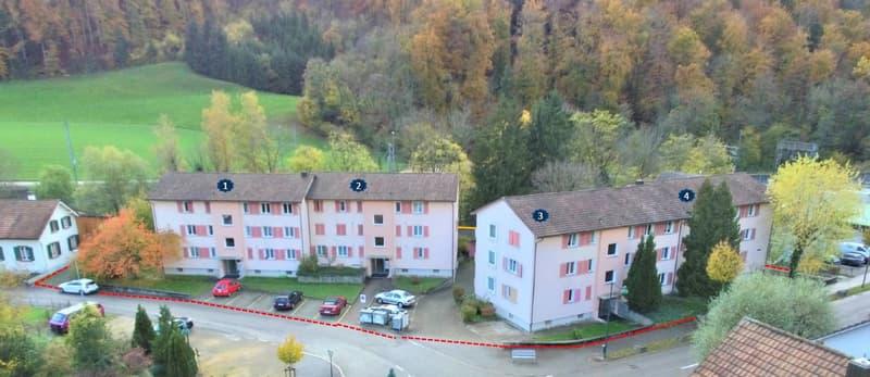 Renditeobjekt in Tecknau BL Ca.20 Min. von Basel entfernt mit 5.1% BR zu verkaufen