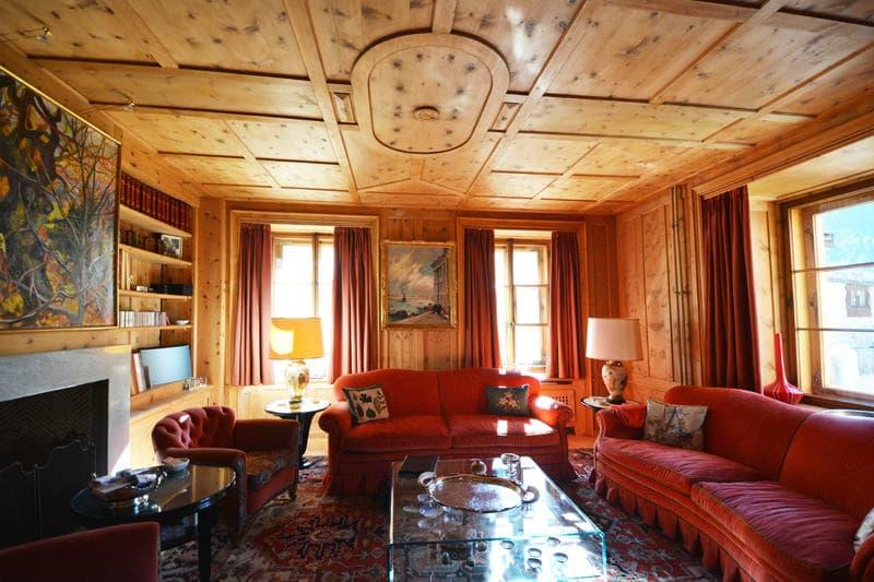 Traditionelles Engadinerhaus im Herzen von Zuoz (3)