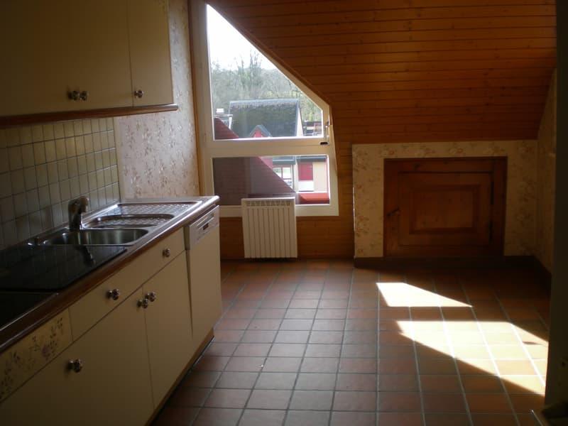 Bel appartement en attique (2)