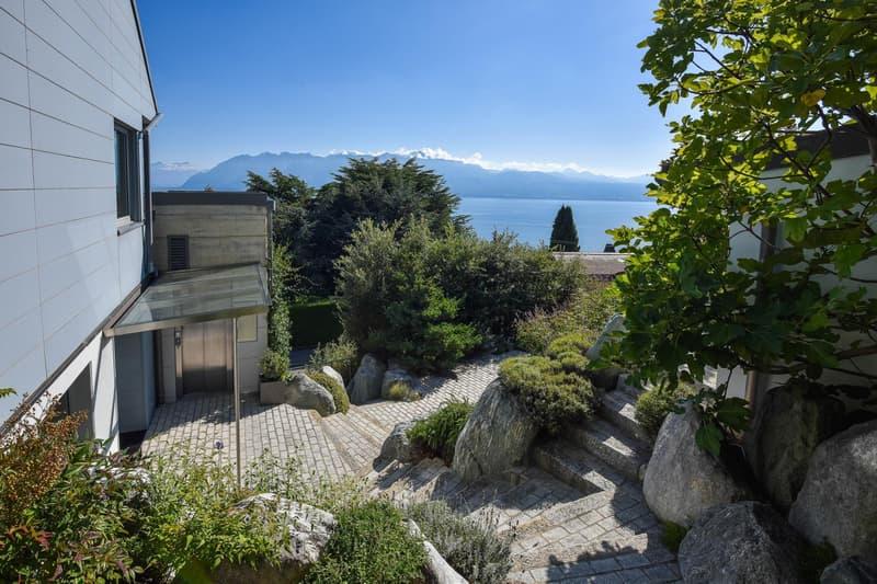 Villa moderne avec vue imprenable