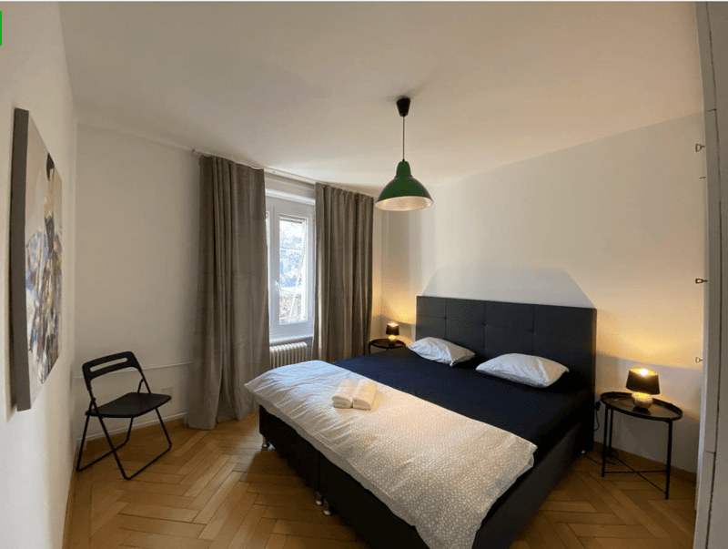 Furnished rooms in shared apartments or private studios from CHF 990.- per Months, NO DEPOSIT!