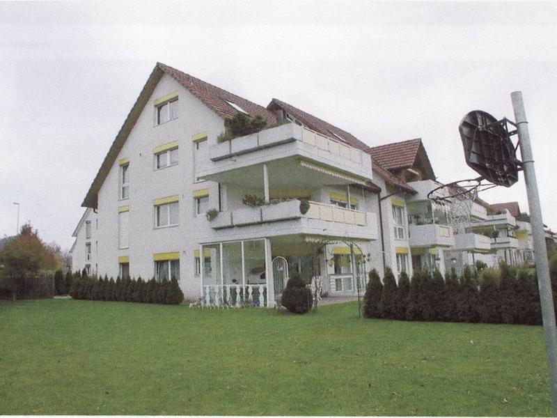 Garten-Maisonette-Wohnung mit grossem gedecktem Sitzplatz