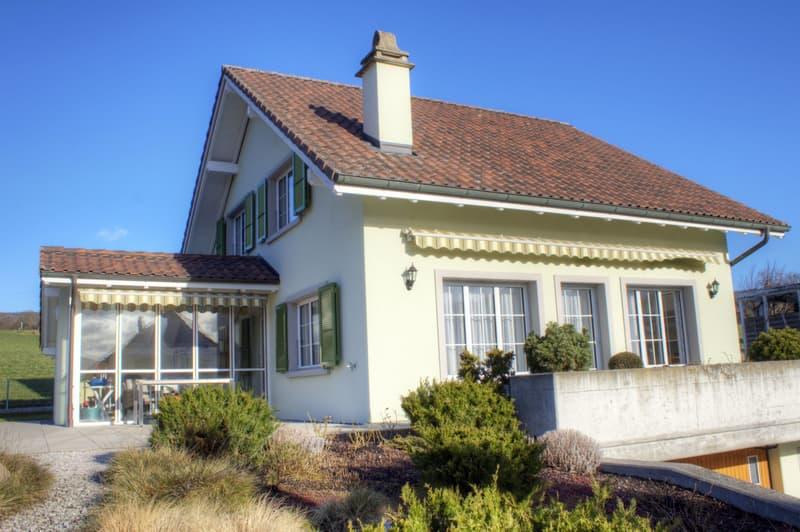 Gemütliches 5.5-Zimmer-Einfamilienhaus mit Doppelgarage