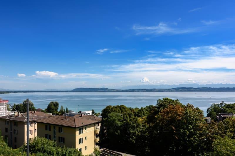 Vue imprénable sur le lac de Neuchâtel