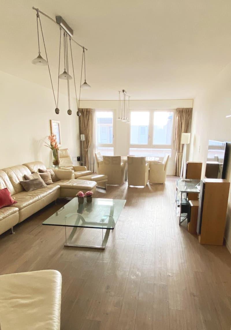 Piece A Vivre Parquet apartment to buy in eaux-vives   homegate.ch