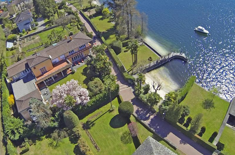 Luxury Villa with Private Beach and Dock on Lago Maggiore