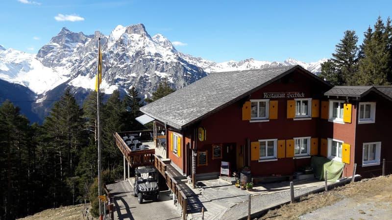 Einzigartiges Berggasthaus mit Panoramasicht und Massenschläge