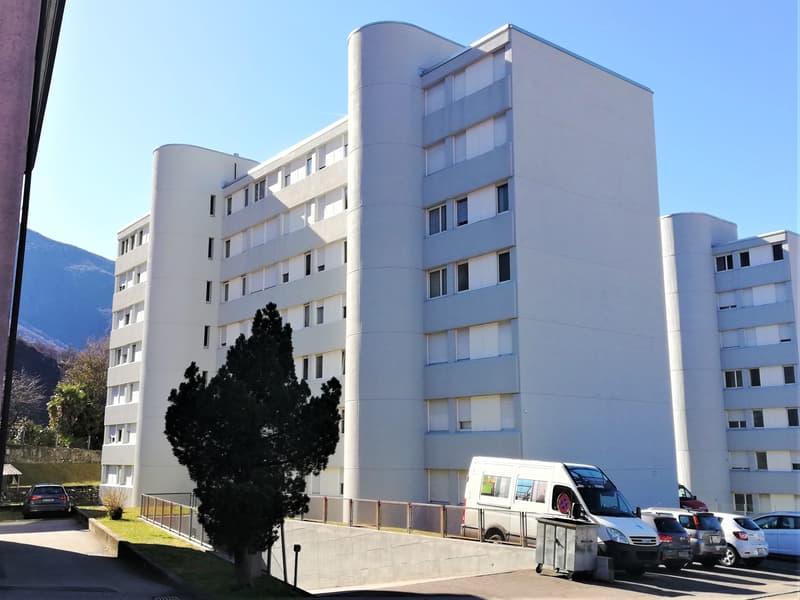 Appartamento 3 1/2 locali, gia rinnovato, con posteggio